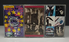 Lot 3 U2 Cassette Tapes - Achtung Baby / Unforgettable Fire / Zooropa