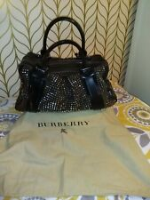 """We BURBERRY PRORSUM LARGE STUDDED LEATHER KNIGHT BAG """"Excellent Condition"""