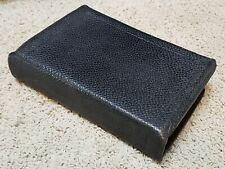 International Bible Society 1899 Holy Bible Black Leather