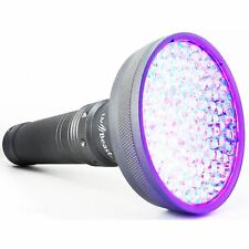 uvBeast UV Flashlight Black Light 100 LED VERSION 2 HIGH POWER with Flood Beam