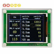 Household Pm25 Detector Module Air Quality Dust Sensor Tft Lcd Display Monitor