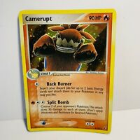 Camerupt 4/107 Reverse Holo Stamped EX Deoxys Pokemon Card