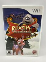 Rudolph the Red-Nosed Reindeer Nintendo Wii Christmas Video Game with Manual