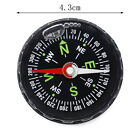 Pocket Survival Liquid Filled Button Compass Hiking Camping Outdoor Useful