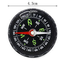 Mini Pocket Survival Liquid-Filled Watch Map Compass For Hiking Camping Outdoor#