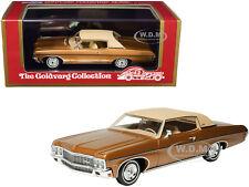 1970 CHEVROLET IMPALA CUSTOM COUPE BRONZE 1/43 CAR GOLDVARG COLLECTION GC-029 A