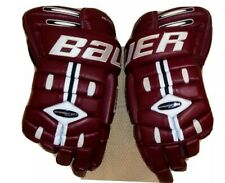 New listing Bauer Supreme 5000 Pro Stock hockey gloves 16 inch *very clean*