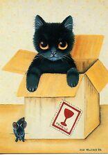 POSTCARD CARTE POSTALE ILLUSTRATEUR ANNA HOLLERER N° LA 281 / CAT / CHAT