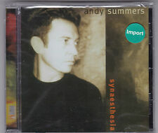 ANDY SUMMERS - SYNAESTHESIA CD ALBUM 1995 CMP 1 ST.PRESS NEU! & OVP!