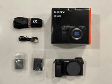 sony alpha a6600 mirrorless camera With 16-50 Kit Lens