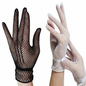 Hot Sexy Women's Girls' Bridal Evening Wedding Party Prom Driving Lace Gloves HL