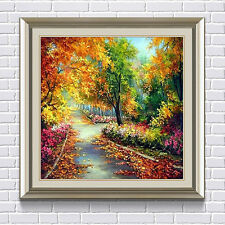 DIY 5D Diamond Autumn Painting Garden Forest Embroidery Cross Crafts Stitch