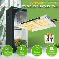 Mars Hydro TS 600W 1000W 2000W 3000W Led Grow Light Grow Tent Indoor Combo Kits
