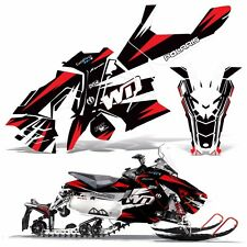Sled Wrap for Polaris AXYS RUSH Pro S Graphic Snow Decal Kit Snowmobile Parts WD
