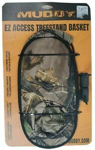 Treestand Basket Ez Access Muddy Holds Gear Mounts Securely To Tree Stand
