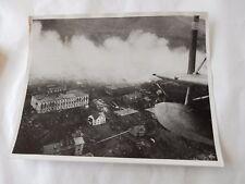 SPITZBERGEN RAID BURNING COAL ALLIED LANDINGS  1941  PRESS PHOTO ORIGINAL