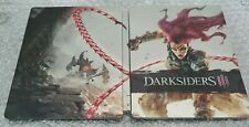 Darksiders 3 - Collectors Edition Steelbook - G2 - New - PS4 - NO GAME