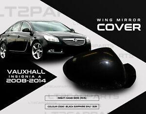 Vauxhall Insignia A Wing Mirror Cover Black Sapphire 2HU 20R RHS