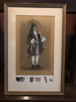 Tanya Moiseiwitsch Costume Drawing  The Way of the World Petulant Tyrone Guthrie