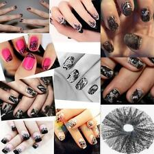 20pcs Lace Floral Nail Art Image Stamping Plate Manicure Template Print Stamp A