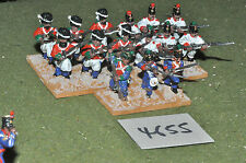 25mm ACW / mexican - Texas war 15 infantry metal painted - inf (4655)