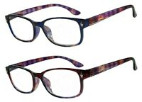 NWT Retro Square Reading Glasses Men Women Tippler Spring Hinge Frame Vintage