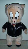 Vintage Porky Pig ~ Looney Tunes Jacket Stuffed Toy 1995