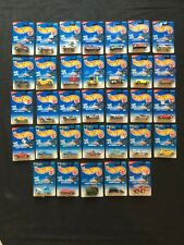 Lot of 33 NEW Hot Wheels 1996 Collector Cars Vehicles Die Cast Metal Plastic