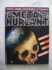 Métal Hurlant spécial fin du monde - n° Hors-série + dédicace Pertuzé