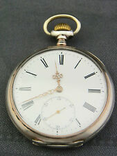 alte Taschenuhr IWC Silber 800/- Lep. cal. 52 IWC - 19lig. H 6 1/2 ca.um 1905