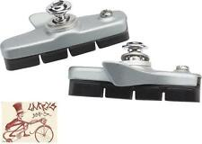 SHIMANO 105 5800-S SILVER ROAD BICYCLE BRAKE PADS W/ HOLDERS