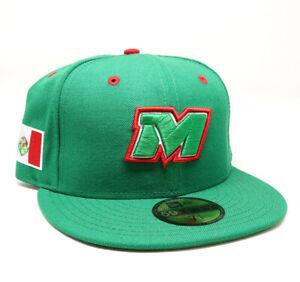 New Era Cap Pacific League Logo Mexico 59FIFTY Fitted Hat Gorra Cerrada Green