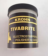TIVABRITE ELECTRO STRIPPING POWDER POLISHER JEWELRY GOLD METAL CLEANER