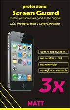 3x Professional screen protector Nokia Lumia 610 Anti-reflection matt film