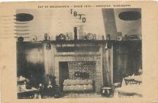 Meridian MS * Weidmann's Tavern 1941 Interior View