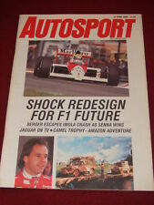AUTOSPORT - CAMEL TROPHY - AMAZON ADVENTURE - April 27 1989