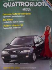 Quattroruote 494 1996  - Alfa Romeo La Giulietta è già in strada    [Q34]