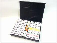 New Japanese mini Mahjong tile Mahjongg tiles pai set with Case With Tracking