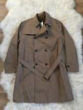 JCrew $298 Ludlow Double-Breasted Water-Repellent Trench Coat XL Raw Umber F4513