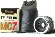 【Mint in Box W.CAP 】Kenko 2x CFE TELEPLUS MC7 For Canon FD Mount from japan #222
