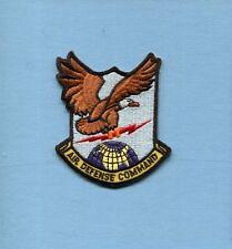 ADC AIR DEFENSE COMMAND USAF FIS Fighter Squadron Hat Jacket Patch