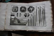 Manuel du TOURNEUR - L.E. BERGERON - édition de 1816 en 3 v. cartonnage éditeur