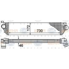 ORIGINAL HELLA Ladeluftkühler Renault Master Bj.10- 8ML376787-411