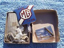 VINTAGE 1970s MG CAR CLUB BADGE-UNUSED/MINT-IN-BOX MAGNETTE/A/B/C/GT/TA/TC/TF/TD