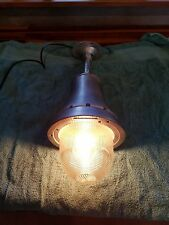 Vtg crouse hinds explosion proof light