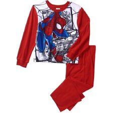 The Amazing Spiderman BOYS PAJAMAS 2 PIECE Short  SIZE- 4-5  NWT
