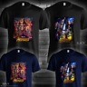 Avengers Infinity War T-Shirt Movie 2018 Thanos Poster Tee Catton Black Navy New