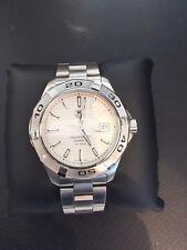 Tag Heuer WAP2011 automatische Aquaracer Armbanduhr Herren Silber S. Steel 300M/1000 Meter