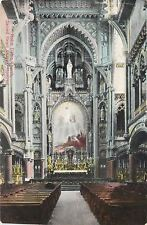 Montreal Quebec~Notre Dame Church~Sacred Heart Chapel~Interior~1910