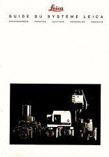 GUIDE DU SYSTEME LEICA _12 / 1989